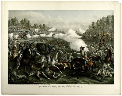 Battle of Opequan or Winchester, Va