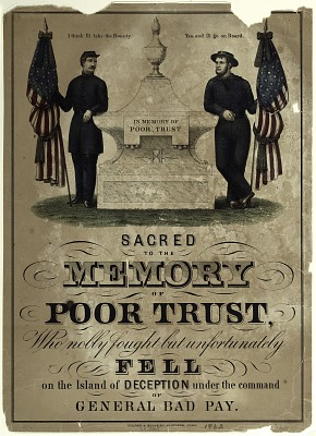Sacred to the Memory of Poor Trust ...