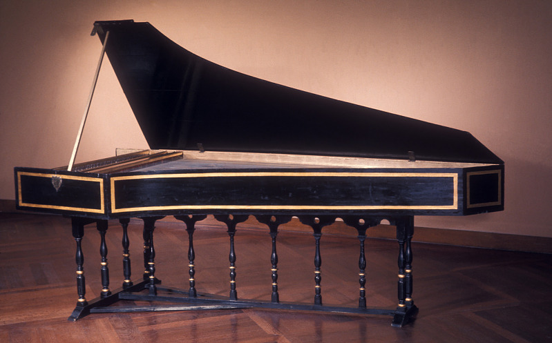 Image 1 for Dulcken Double Manual Harpsichord