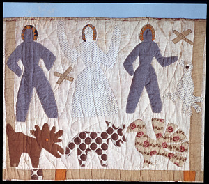 images for 1885 - 1886 Harriet Powers's Bible Quilt-thumbnail 4