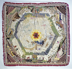 1830 - 1850 Mary Willcox Taylor's Fort Dearborn Quilt