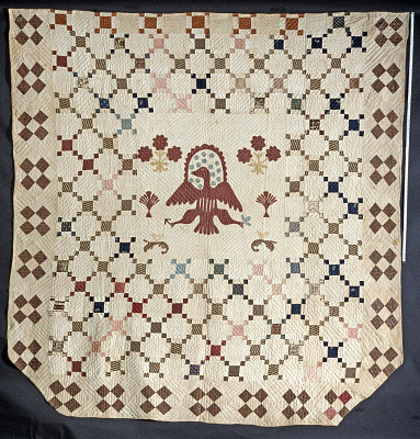 1800 - 1820 Brown-Francis Family's Patriotic Quilt