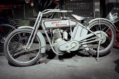 Harley-Davidson Motorcycle 9-B, 1913