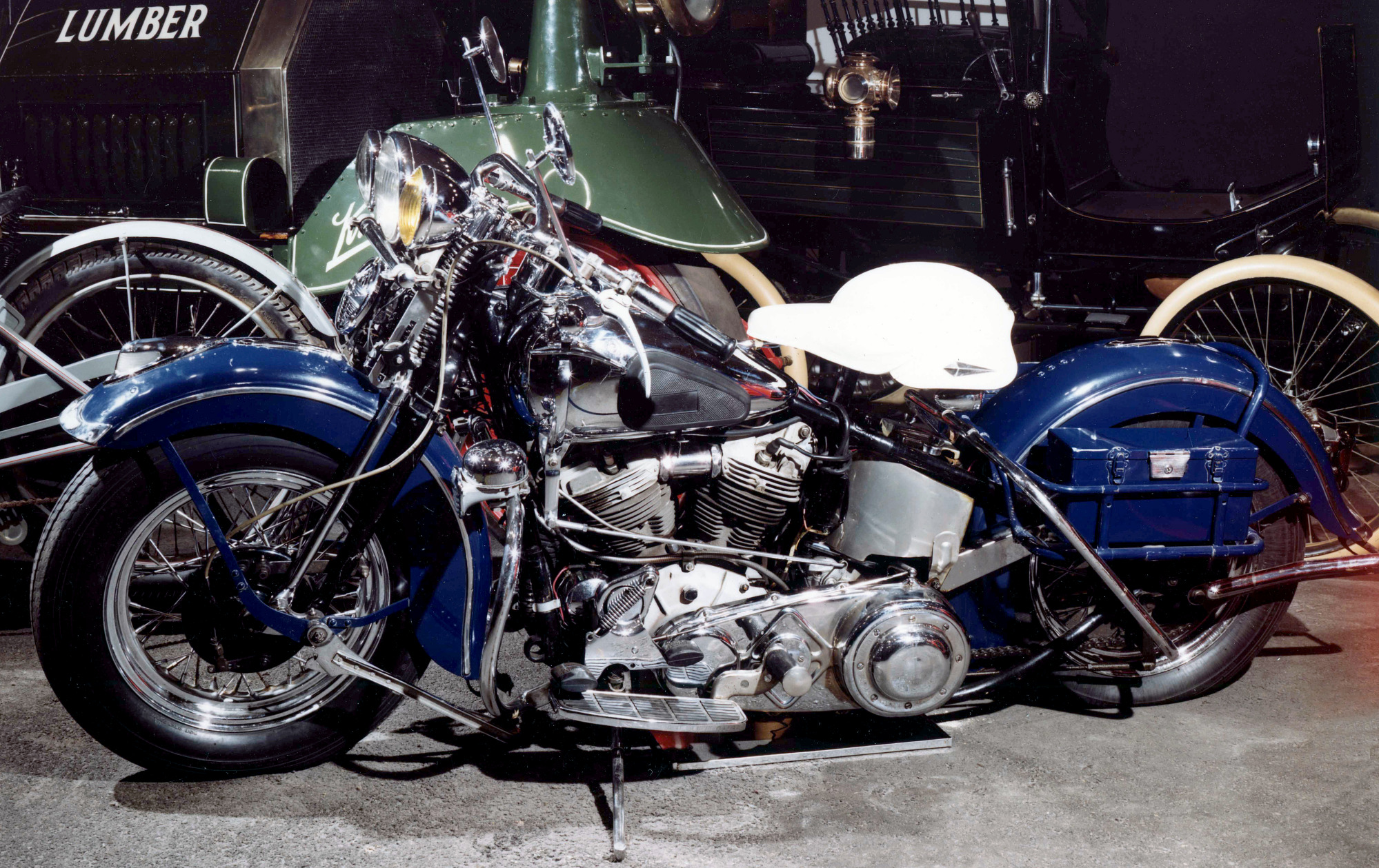 Harley-Davidson Motorcycle, 1942