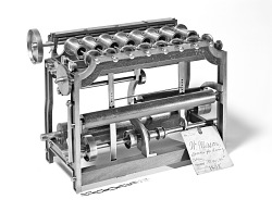 4012480ac6105 1838 Mason s Patent Model of a Speeder for Roving Cotton