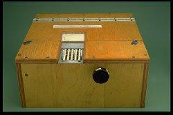 Early Teaching Machine of B. F. Skinner