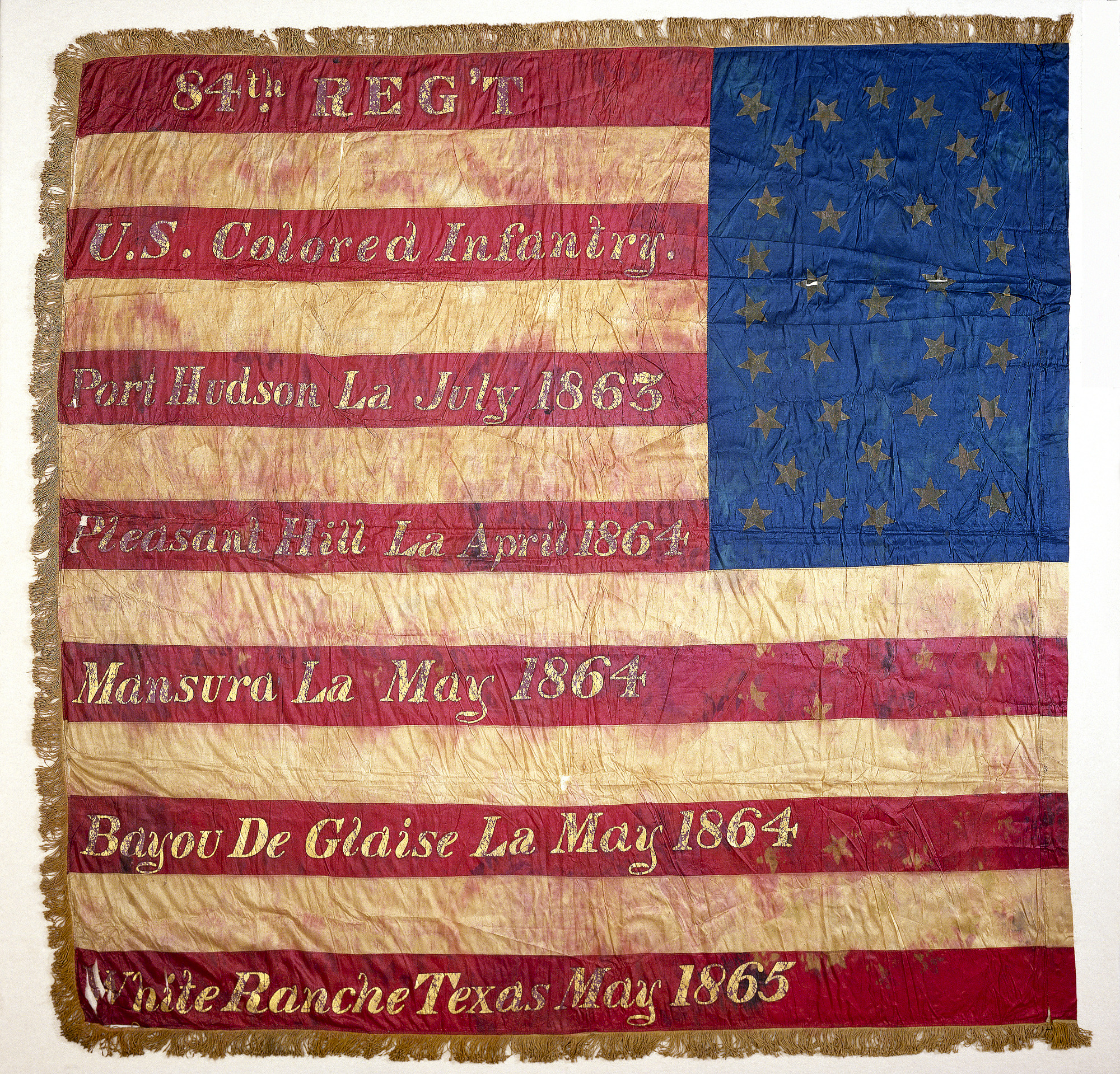images for United States Colored Troops Flag