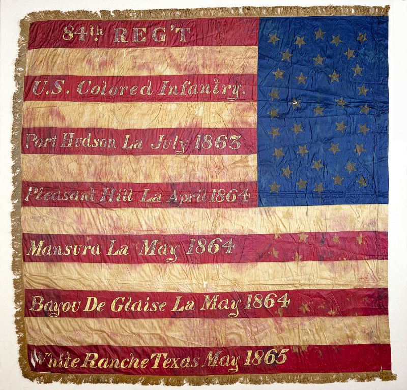 Image for United States Colored Troops Flag