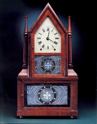 A Wagon-Spring Clock