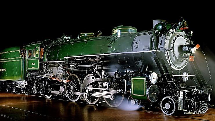 PS-4 class steam locomotive No. 1401, 1926