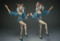 """The Dolly Sisters"" Marionettes"
