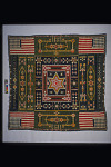 1889 - 1893 Jewett Washington Curtis's Pieced Bedcover