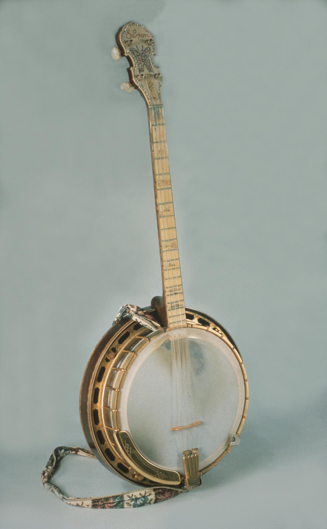 Image 1 for Frances Chenoweth's Tenor Banjo