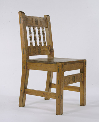 Spanish Colonial Revival Chair