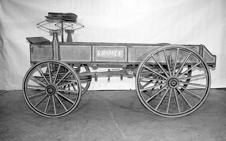Kramer farm wagon, 1925