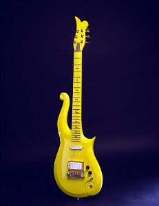 images for Prince's Yellow Cloud Electric Guitar-thumbnail 2
