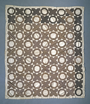 1850 - 1875 Mary La Follette's Pieced Quilt Top