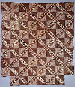 images for 1850 - 1875 Pieced Quilt-thumbnail 1