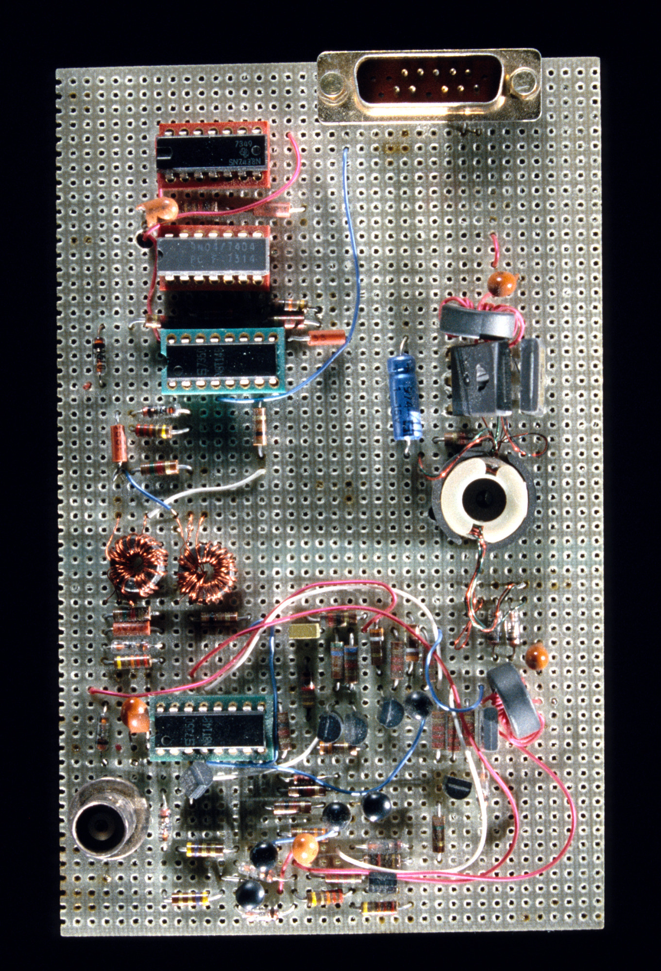 Ethernet Prototype Circuit Board National Museum Of American History First Design Flickr Photo Sharing
