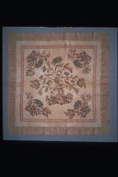 """1830 Violet Alexander's """"Flowering Tree"""" Appliqued Quilt"""