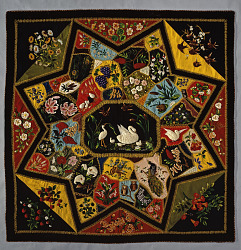 """1899 Lydia Finnell's """"Star Quilt"""""""