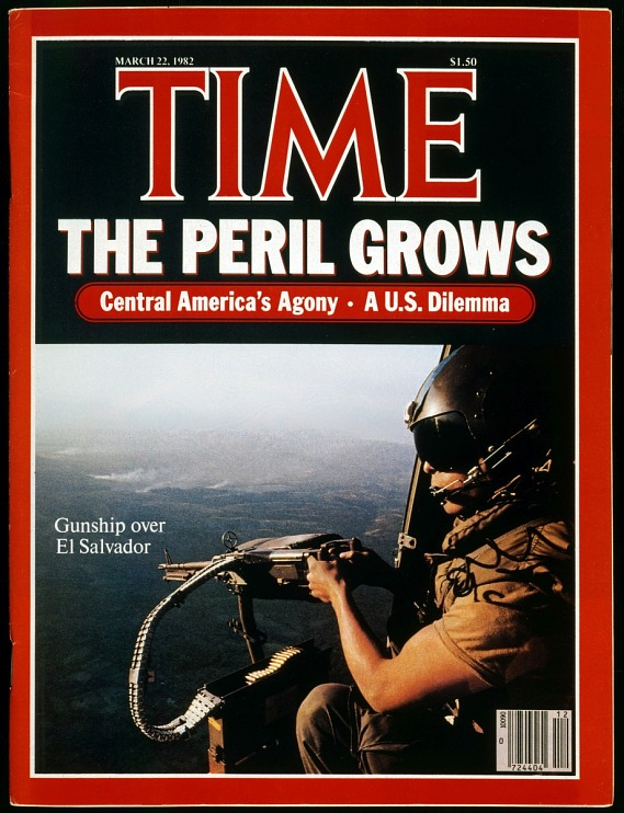 Time magazine cover on El Salvador