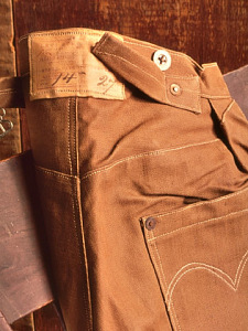 images for Levi's Brown Duck Trousers-thumbnail 2
