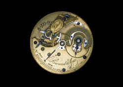 Watch movement, E. Howard & Co.