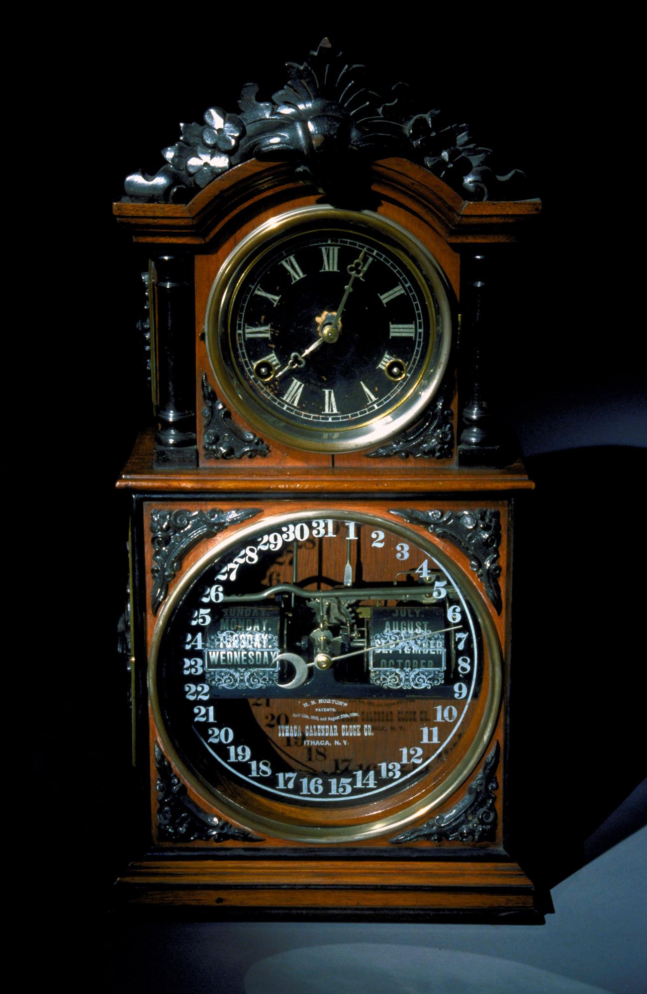 images for Shelf Calendar Clock