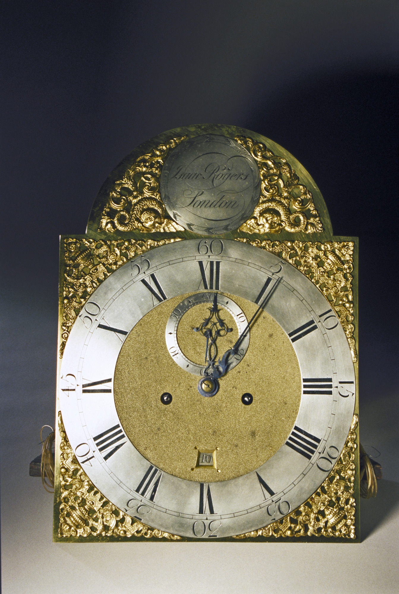 images for Tall Clock Case with Blue-lacquer Case, about 1760