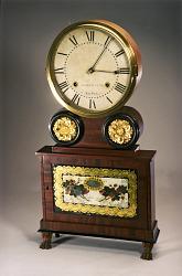 Joseph Ives Wagon-Spring Shelf Clock