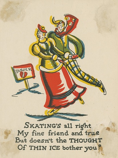 Skatings all right greeting card smithsonian institution images for skatings all right greeting card m4hsunfo