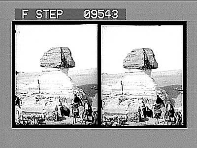 images for Pyramids and Sphinx, Gizeh, Egypt. Active no. 1934 : stereo photonegative