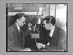 [Early radio research. Active no. 1797 : photonegative.]