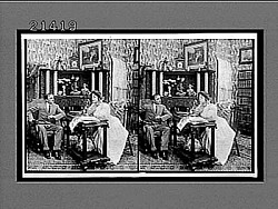 [Domestic interior, from narrative sequence. Active no. 7899 : stereo interpositive.]
