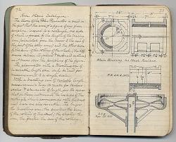 Alfred O. Blaisdell Notebook, [notebook]