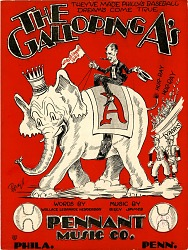 1cac515121d9b The Galloping A s  sheet music