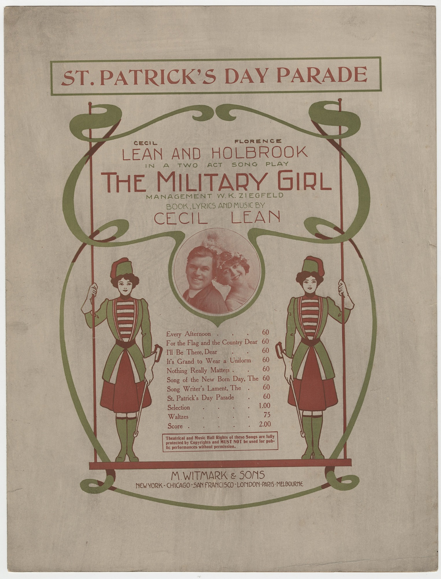 images for St. Patrick's Day Parade sheet music