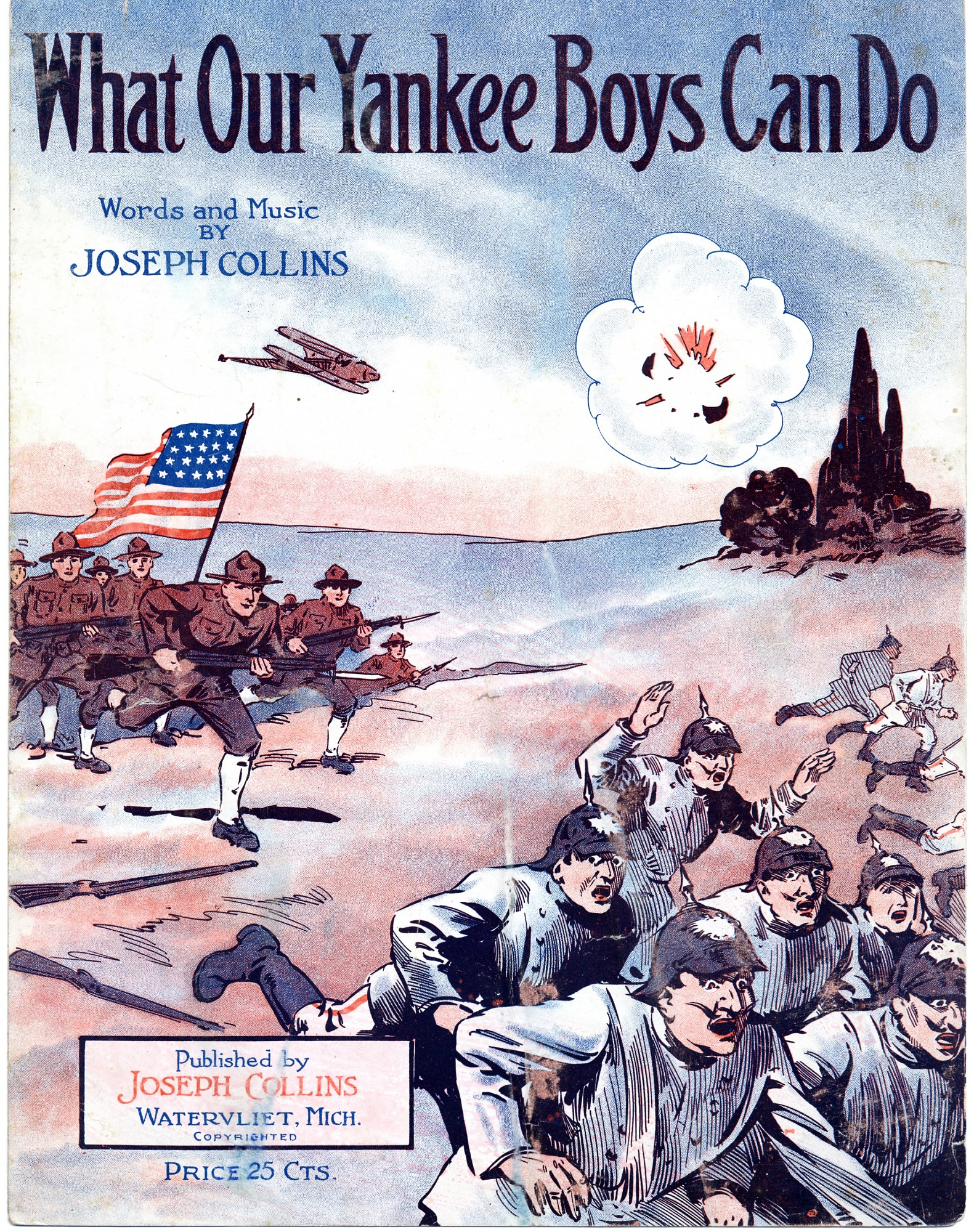 images for What Our Yankee Boys Can Do sheet music, 1918