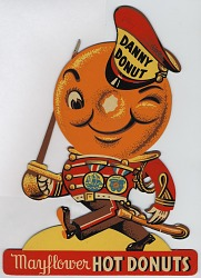 Danny Donut / Mayflower Hot Donuts [document]