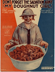 Don't Forget the Salvation Army (My Doughnut Girl) [sheet music]