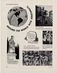Around the World with Doughnuts [magazine page]