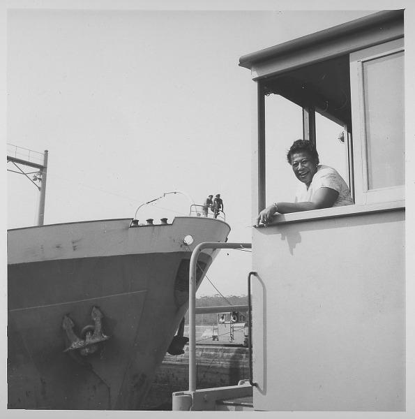 Image for Ella Fitzgerald in Panama: photograph, ca. 1955.