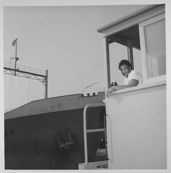 Image for Ella Fitzgerald in Panama: photoprint, ca. 1955.