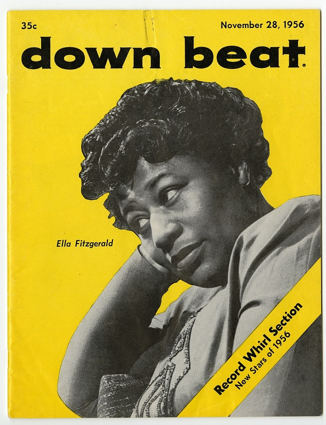Down Beat. November 28, 1956. Magazine.