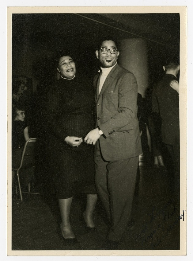 Ella Fitzgerald and Dizzy Gillespie at