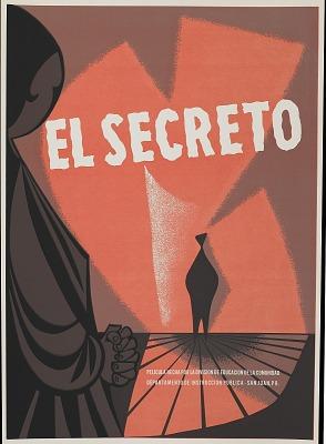 El Secreto [screen print poster]