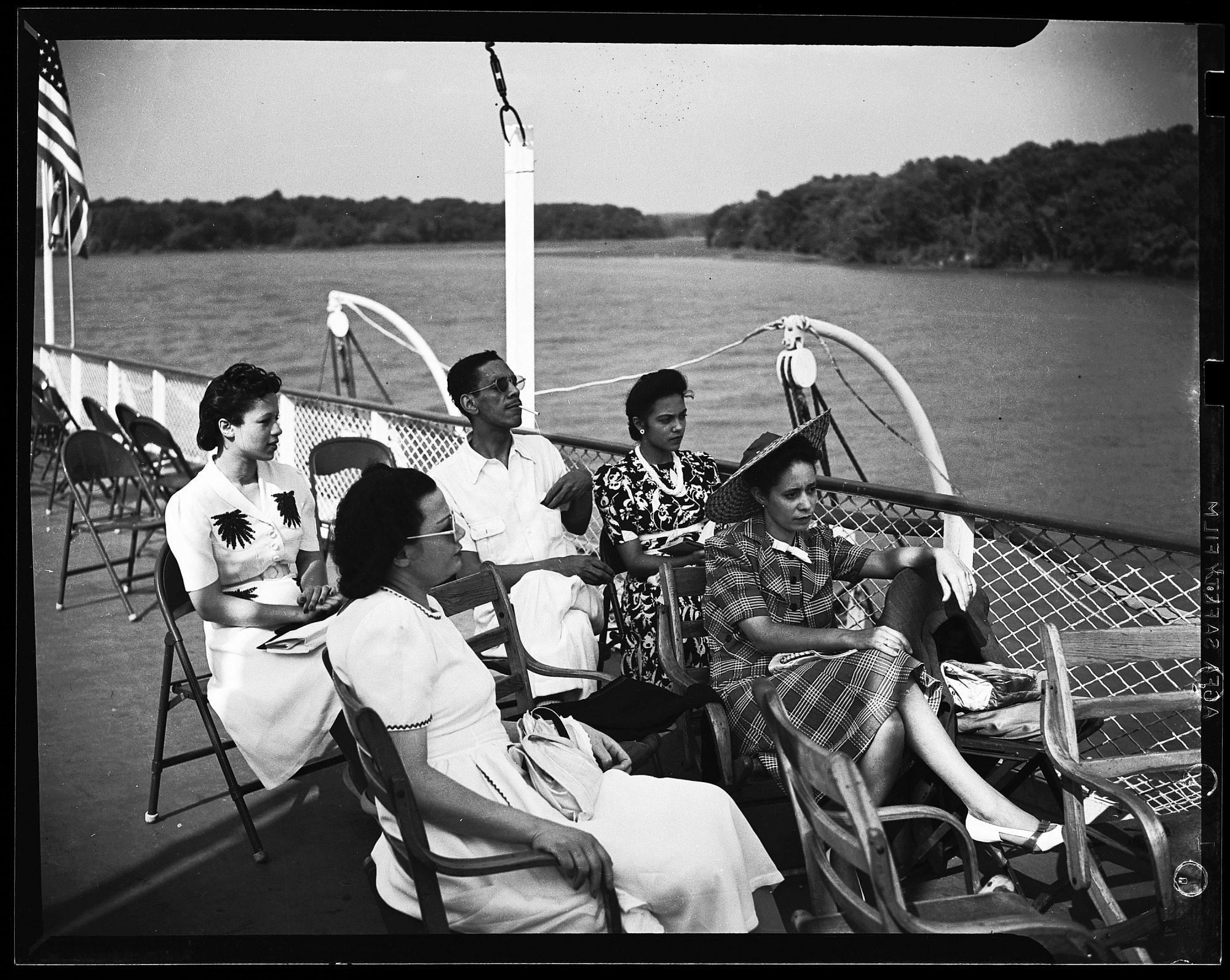 images for H.U Summer Boatride 1941 and Class view cellulose acetate photonegative