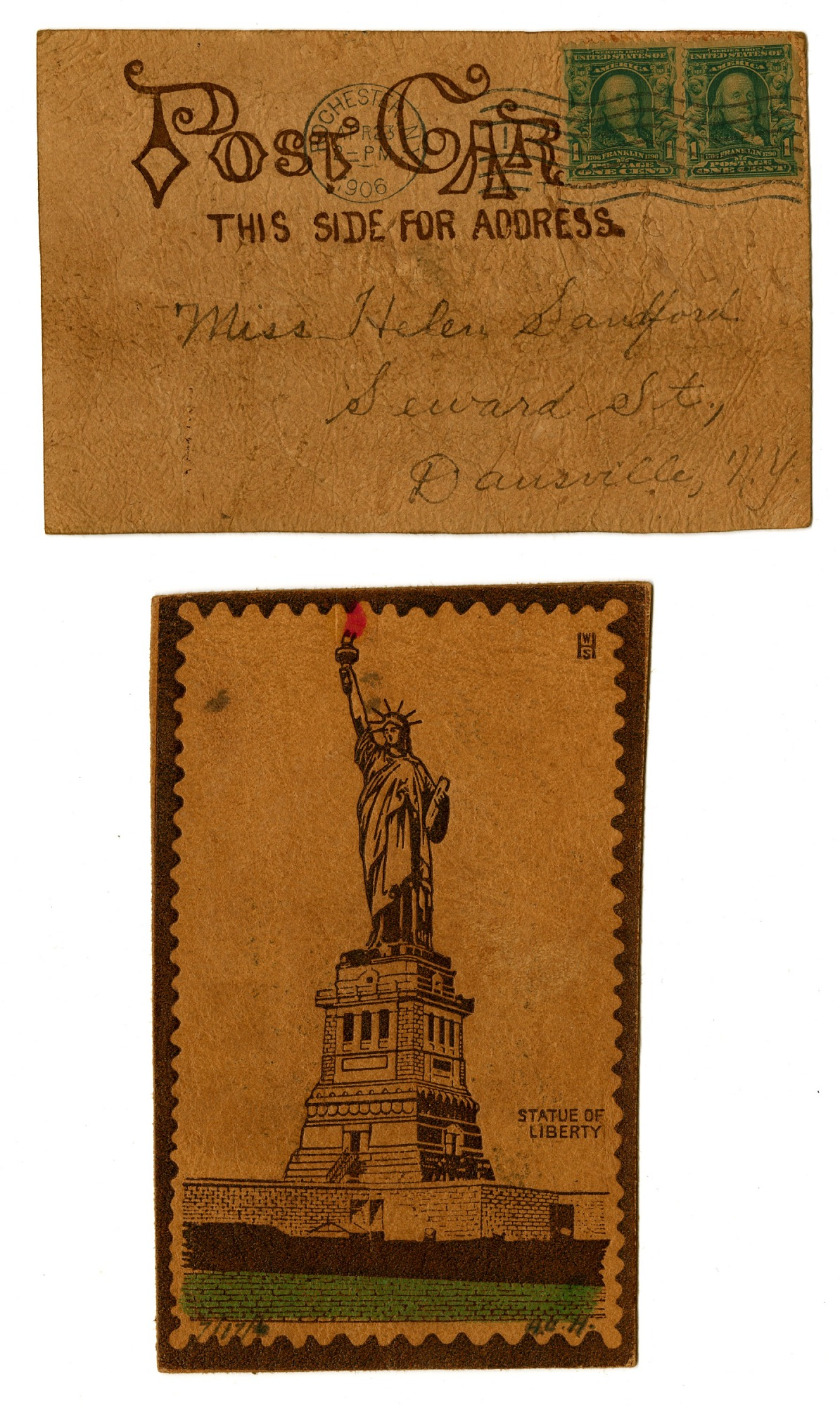 images for Statue of Liberty 2 postcards