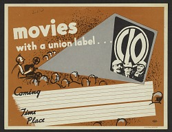 Movies with a Union Label